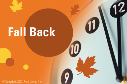 Fall Back Postcard from Real Living