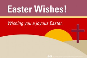 Easter eCard from Real; Living