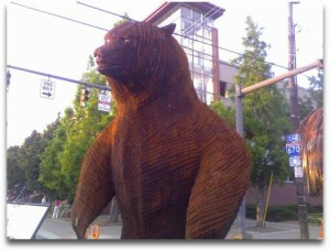 bear scupture Columbus Arts Festival