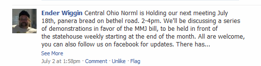 365 Things To Do In Columbus Ohio on Facebook NORML activism