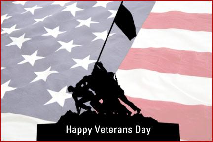 Real Living Veterans Day ecard