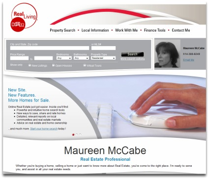 Maureen McCabe Real Living HER real estate site