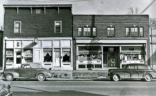 High St. Worthington in the 1940s