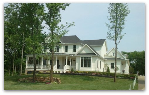 Olentangy Falls home built by New England Homes