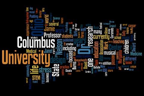 words the program of speakers TEDx Columbus 2011