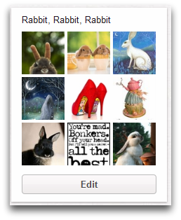 Rabbit, Rabbit, Rabbit Pinterest Board