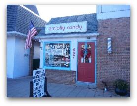 Emlolly Candy on High St. Worthington Ohio