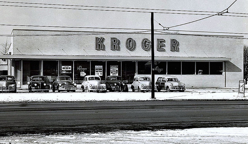 1950 Kroger Opening in Clintonville - Don O'Brien CCL