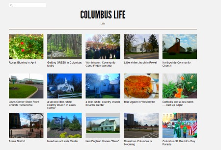 Columbus Life a Posterous blog