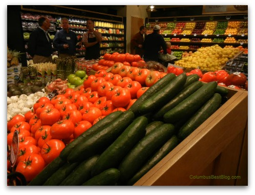 Earth Fare produce