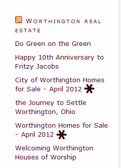 Worthington real estate
