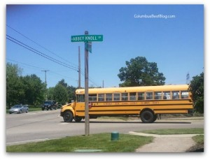 Olentangy Local school bus