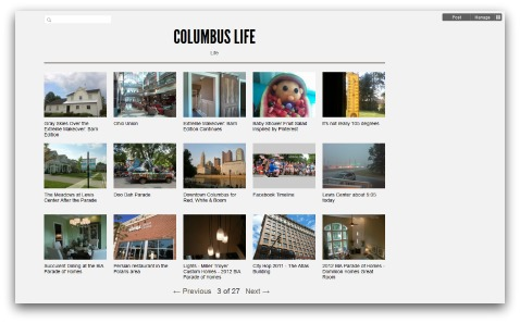 Columbus  Life on Posterous.com
