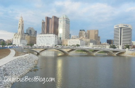 Columbus skyline June 2012