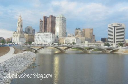 Columbus skyline June 2012