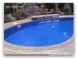 Pool @ New England Homes 2009 - Tartan Ridge