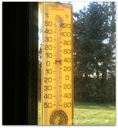 July 6, 2012 unofficial Columbus, Ohio 105 degrees