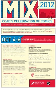 MIX CCAD'S CELEBRATION OF COMICS