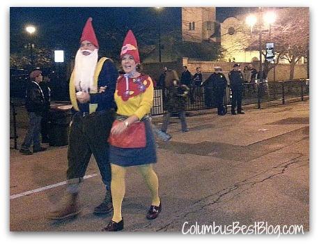 Gnomes on High St. Columbus