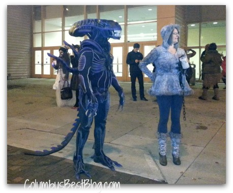 Monster on High St. Columbus