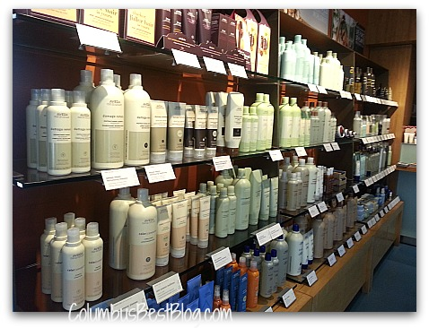 Aveda Products at Nurtur