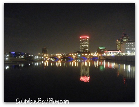 Downtown Columbus from the Scioto Mile