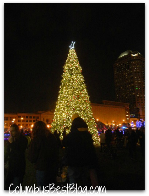 Columbus Commons Tree  2012
