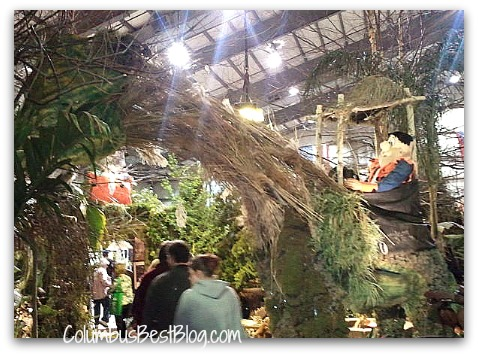 Fred Flinstone at the 2011 Columbus Dispatch Home & Garden Show