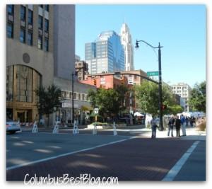 Columbus streets
