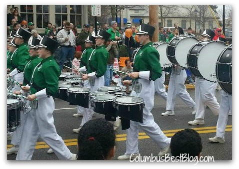 Dublin Coffman Marching band