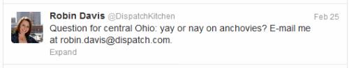 Columbus Dispatch Kitchen  tweet