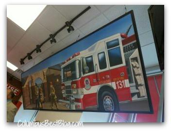 Mifflin Township Fire mural
