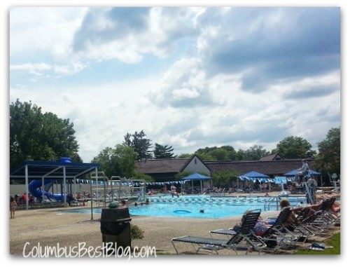 Brookside Country Club pool