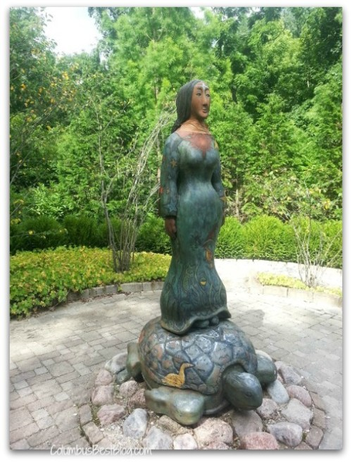 Inniswood Garden Sky Woman