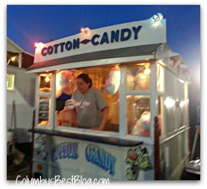 Hartford Fair Cotton Candy Wagon